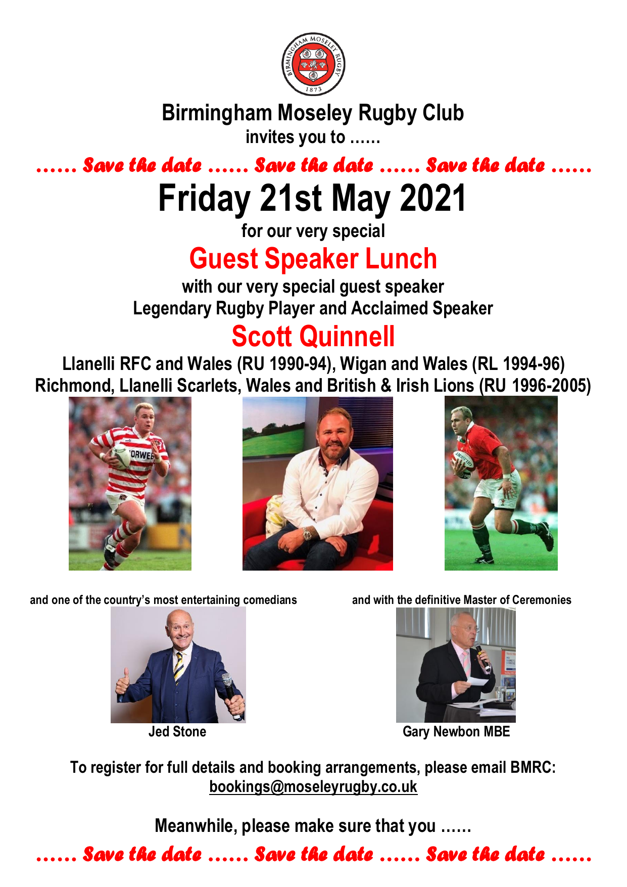 Scott Quinnell Lunch
