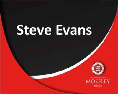 Sponsor : Steve Evans